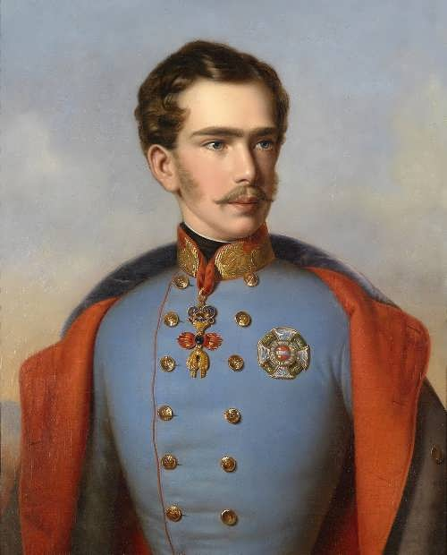 Franz Joseph I, 1855