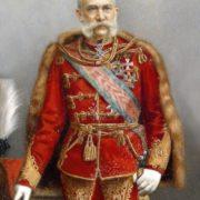 Franz Joseph I in ungarischer Uniform