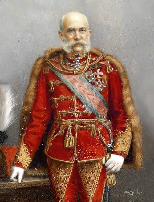 Franz Joseph I in ungarischer Uniform
