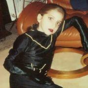 Gaga in her childhood