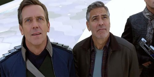 George Clooney and Hugh Laurie