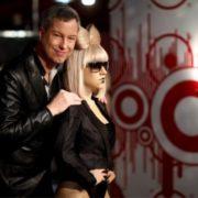 German comedian Thomas Hermans and wax Gaga