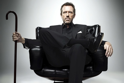 Hugh Laurie - British actor and pianist