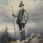 Kaiser Franz Joseph I, 1855 by Josef Kriehuber