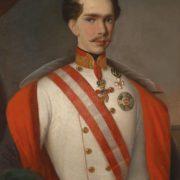 Kaiser Franz Joseph I in Feldmarschallsuniform ,1854