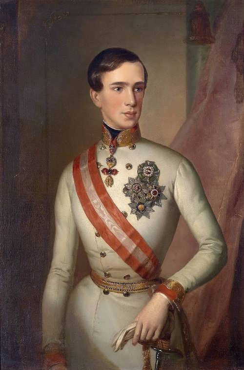 Kaiser Franz Joseph I in Feldmarschallsuniform,1849