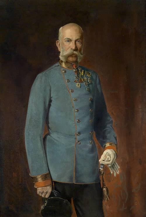 Kaiser Franz Joseph in Feldmarschallsuniform, 1900