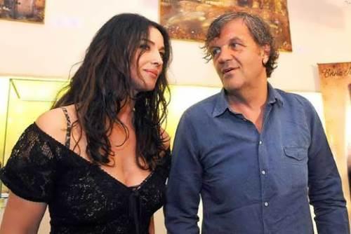 Emir Kusturica and Monica Bellucci