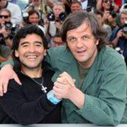Emir Kusturica and Diego Maradona