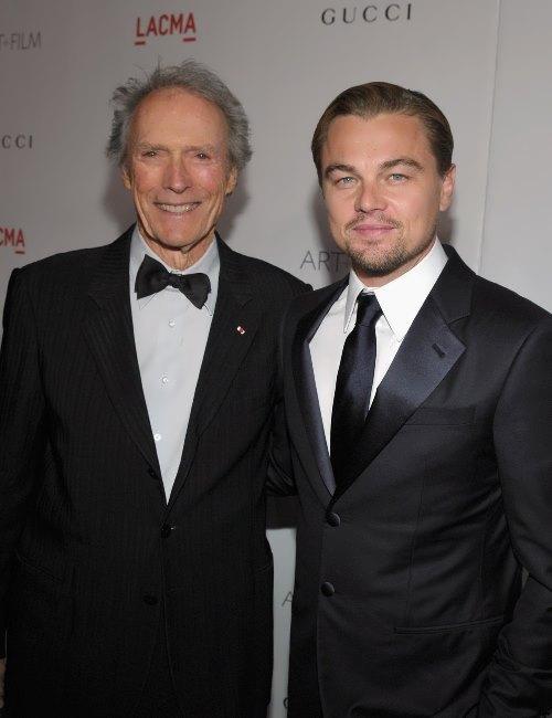 Leonardo DiCaprio and Eastwood