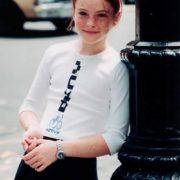 Lindsay in her childhood