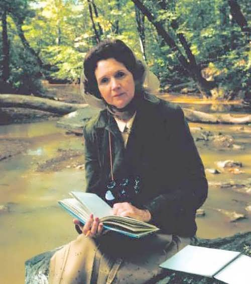 Marine biologist and writer Rachel Carson