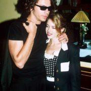 Minogue and Michael Hutchence