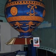 Model of Montgolfier balloon