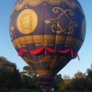 Modern model of Montgolfieres balloon