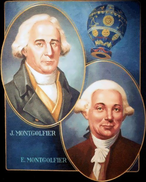 Joseph-Michel and Jacques-Etienne Montgolfier