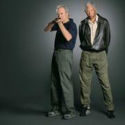 Morgan Freeman and Eastwood