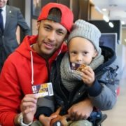 Neymar and his son