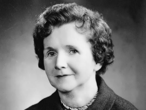 Outstanding writer Rachel Carson