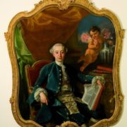 Portrait of Giacomo Casanova, attributed to Francesco Narichi