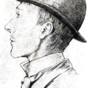 Portrait of young Adolf