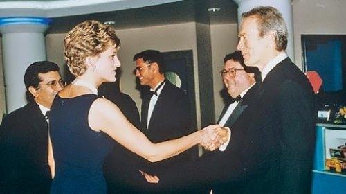 Princess Diana and Eastwood