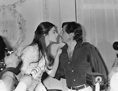 Roman Polanski and Nastassja