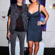 Samantha Ronson and Lindsay