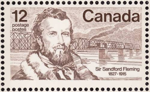 Sandford Fleming stamp