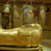 Sarcophagus of pharaoh