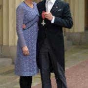 Sophie Hunter and Cumberbatch