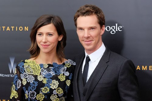 Sophie Hunter and Cumberbatch