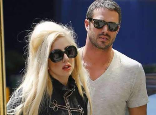 Taylor Kinney and Gaga