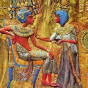 Tutankhamen and his wife
