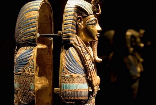 Sarcophagus of pharaoh