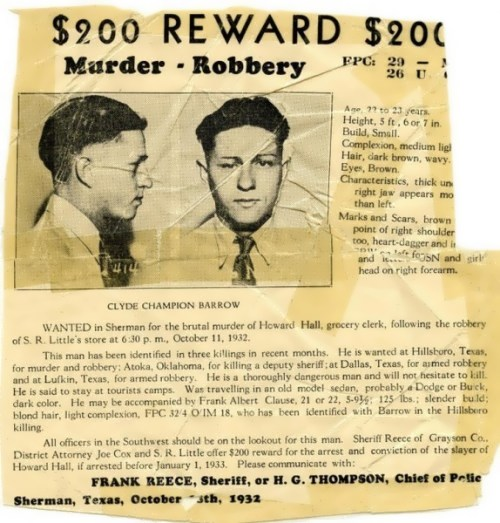 Wanted Clyde Champion Barrow