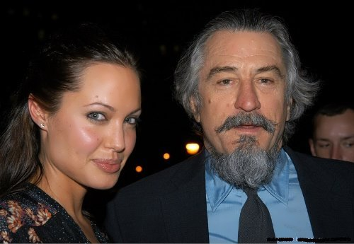 Angelina Jolie and Robert De Niro