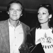 Anjelica Huston and Nicholson