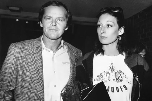 Anjelica Huston and Nicholson