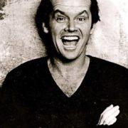 Attractive actor Jack Nicholson