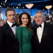 Brad Pitt, Angelina Jolie and Robert De Niro