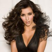 Charming Kim Kardashian