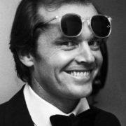 Charming actor Jack Nicholson
