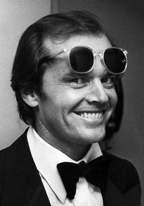 Charming actor Jack Nicholson
