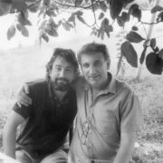 Eldar Shengelaja and De Niro in Tbilisi, 1987