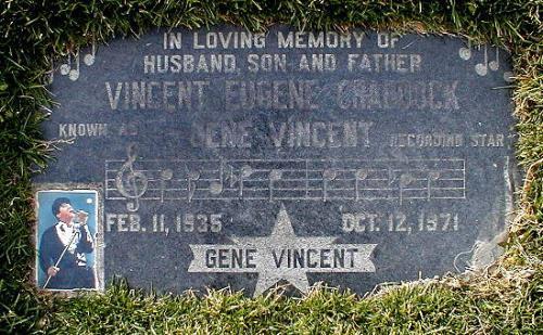 Grave of Gene Vincent