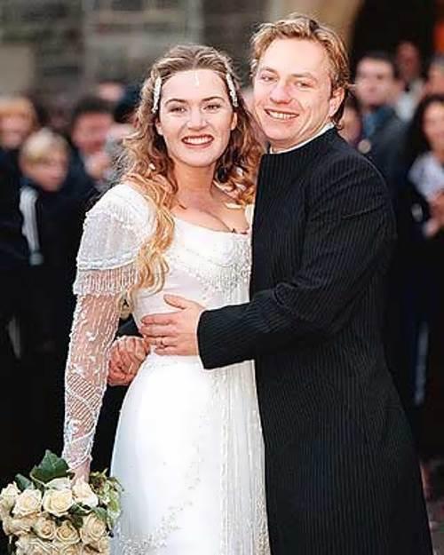 James Threapleton and Kate Winslet