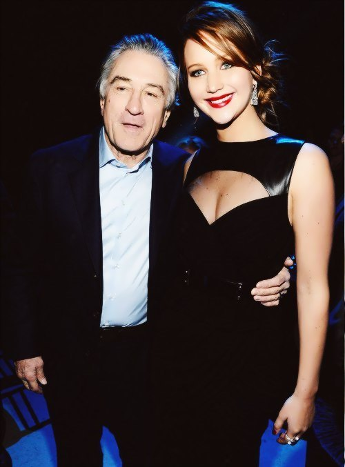 Jennifer Lawrence and Robert De Niro