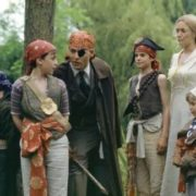Johnny Depp and Kate Winslet in Finding Neverland