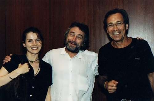 Julia Ormond, Robert De Niro and Andrei Konchalovsky